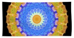 Sunrise Mandala Art - Sharon Cummings Beach Towel