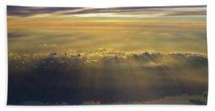 Sunrise From 30,000 Feet Beach Sheet