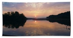 Sunrise Morning Bliss 152b Beach Towel