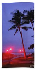 Sunrise Ocean Pathway Beach Towel
