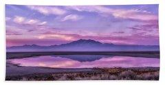Beach Sheet featuring the photograph Sunrise On Antelope Island by Kristal Kraft