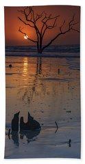 Sunrise On Boneyard Beach Beach Towel