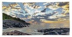 Sunrise On Christmas Cove Beach Towel