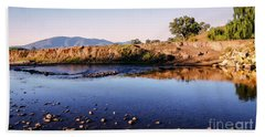 Sunrise On Nariel Creek Beach Sheet by Lexa Harpell