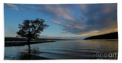 Sunrise On Seneca Lake Beach Sheet