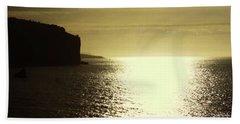 Beach Towel featuring the photograph Sunrise On The Almalfi Coast by Polly Peacock