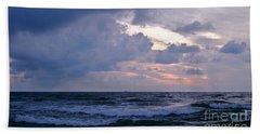 Sunrise On The Atlantic Beach Towel