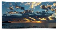 Sunrise On The French Riviera Beach Sheet