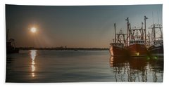Sunrise Over New Bedford, Beach Towel