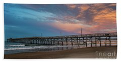 Sunset Over The Atlantic Beach Towel