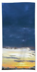 Sunrise Over The Cascades Beach Towel