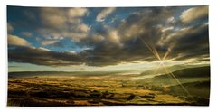 Sunrise Over The Heber Valley Beach Towel