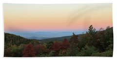 Sunrise Over The Shenandoah Valley Beach Towel