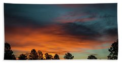 Sunrise Over The Southern San Juans Beach Sheet