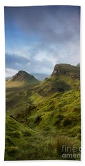 Sunrise Over The Trotternish Ridge Beach Towel