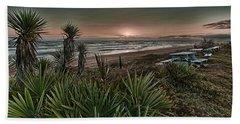Sunrise Picnic Beach Towel
