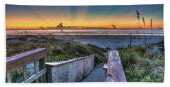 Sunrise Radiance Beach Sheet