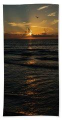 Sunrise Rays Delray Beach Florida Beach Towel