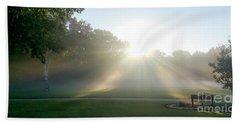 Beach Towel featuring the photograph Sunrise  by Ricky L Jones