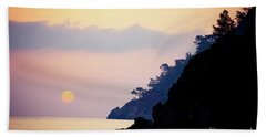 Sunrise Sea Rythm  Beach Towel