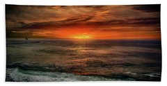 Sunrise Special Beach Sheet by Joseph Hollingsworth