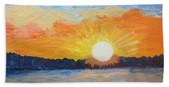 Sunrise Sensation Beach Towel