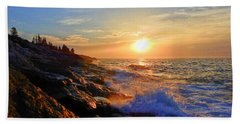 Sunrise Surf Beach Towel