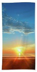 Sunrise With Flare Beach Sheet