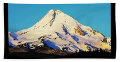 Sunrise With Mt. Hood Beach Towel