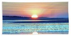 Sunrise X I V Beach Towel by Newwwman