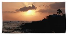 Sunset @ Spotts Beach Towel
