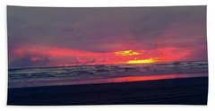 Sunset #1 Beach Towel