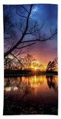 Sunset #10 Beach Sheet