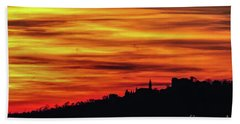 Sunset 11 Beach Towel