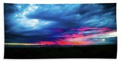 Sunset #2 Beach Towel