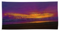 Sunset #3 Beach Sheet