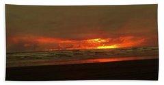 Sunset #5 Beach Sheet