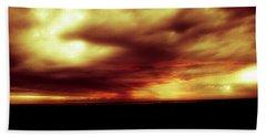 Sunset #6 Beach Sheet