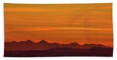 Sunset 8 Beach Towel