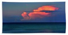Sunset Afterglow Beach Sheet