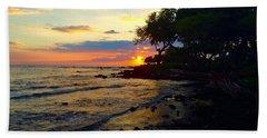 Sunset At A-bay Beach Sheet