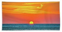 Sunset At Captiva Beach Towel