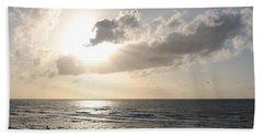 Sunset At Jaffa Beach 17 Beach Sheet