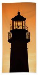 Sunset At Lighthouse Beach Towel