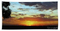 Sunset At Little River Victoria Beach Sheet by Lexa Harpell