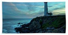 Sunset At Pigeon Point Beach Sheet