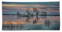 Sunset At San Luis   Beach Towel