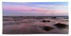 Sunset At The Atlantic Beach Towel