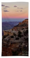Sunset At The Grand Canyon Beach Towel