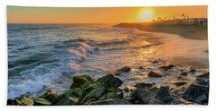 Sunset At The Wedge Beach Sheet